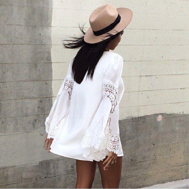 That dress #forloveandlemons #festivaldress