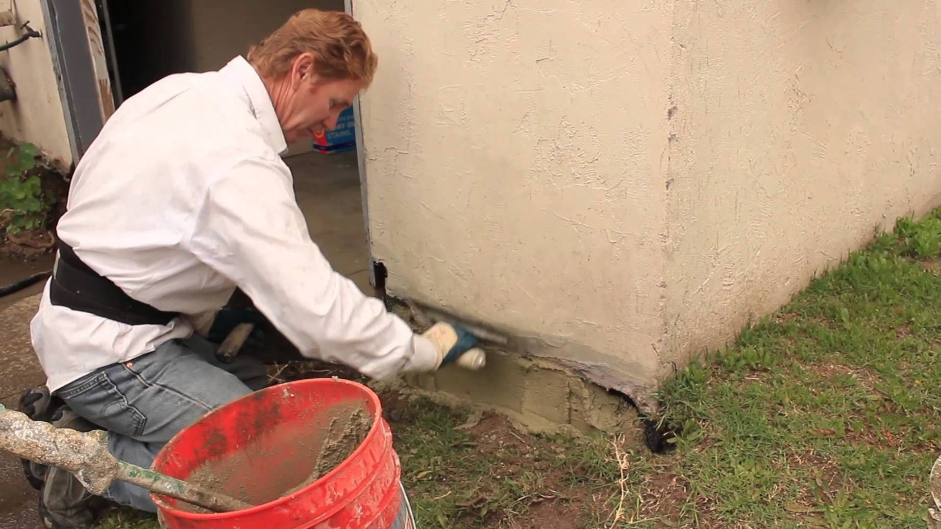 Foundation Repairs With Stucco And Or Cement Plaster On The Professional Side Of Building There Is The All Supe Stucco Repair Foundation Repair Plaster Repair