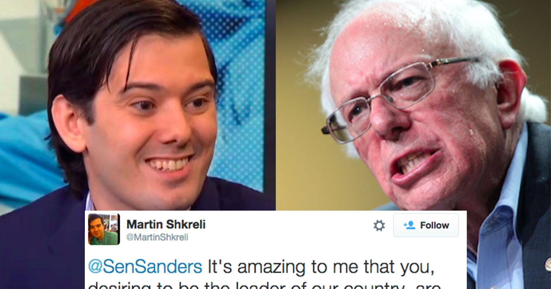 Big Pharma CEO Martin Shkreli pledged his support and donated to Bernie Sanders this week. So how did Bernie respond? By taking the money and giving it to a health clinic in Washington.