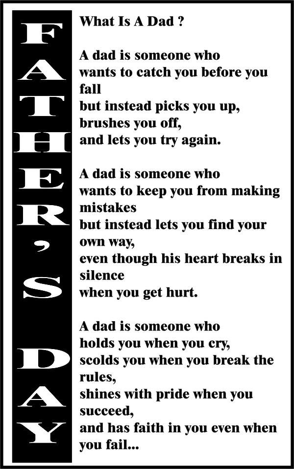 Great Quote For Fathers Day Gift