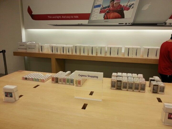 Compra express de Apple Store en Mall of America!