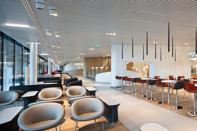 Air France Business Lounge At The Charles De Gaulle Airport Http