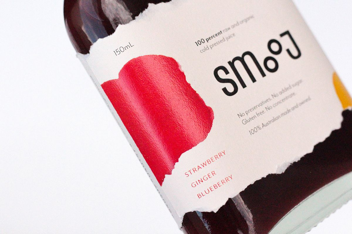 Smooj Is An Artistic Take On Cold Pressed Juice Cold Pressed Juice Pressed Juice Juice Branding