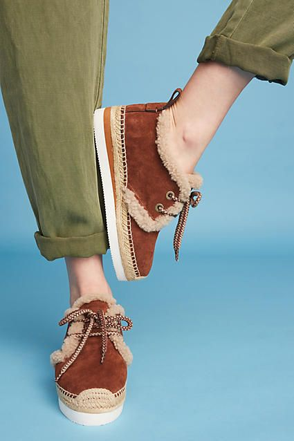 See By Chloe Shearling Espadrille