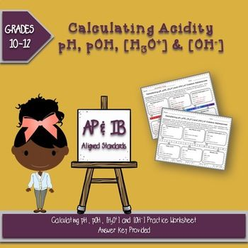 Calculating pH, pOH, H+ and OH- of Common Substances ...