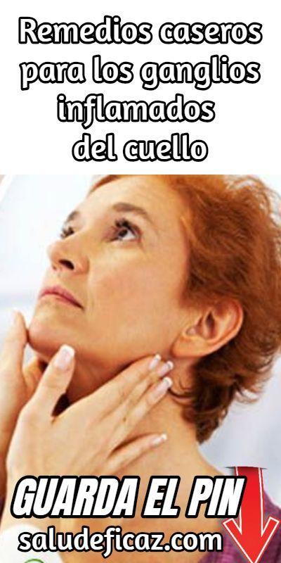 Remedios caseros para ganglios inflamados en el cuello