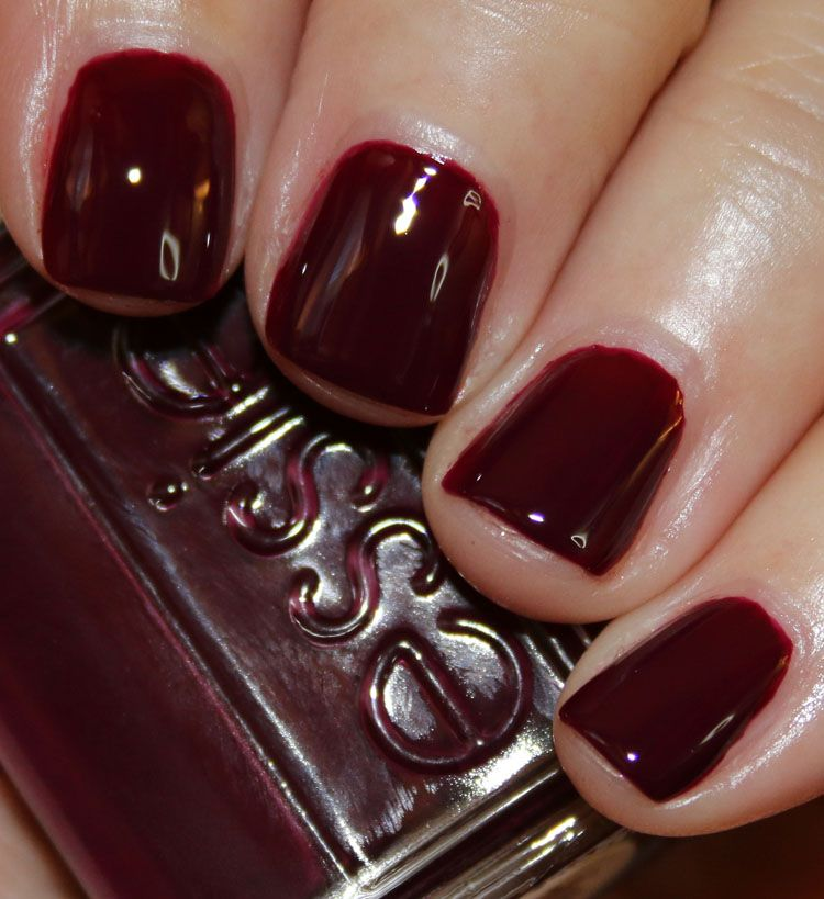 Essie Fall 2015 Collection | Vampy Varnish / In The Lobby is a deep ...