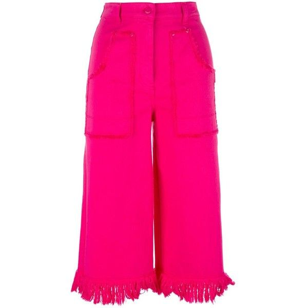 Cheap No21 Pink Cropped Trousers For Women Online Sale