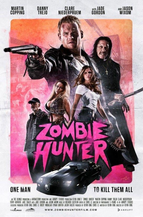 Zombie Hunter Trailer Preview On The Monster Movie Podcast Eps 40 Hunter Movie Zombie Movies Zombie Hunter
