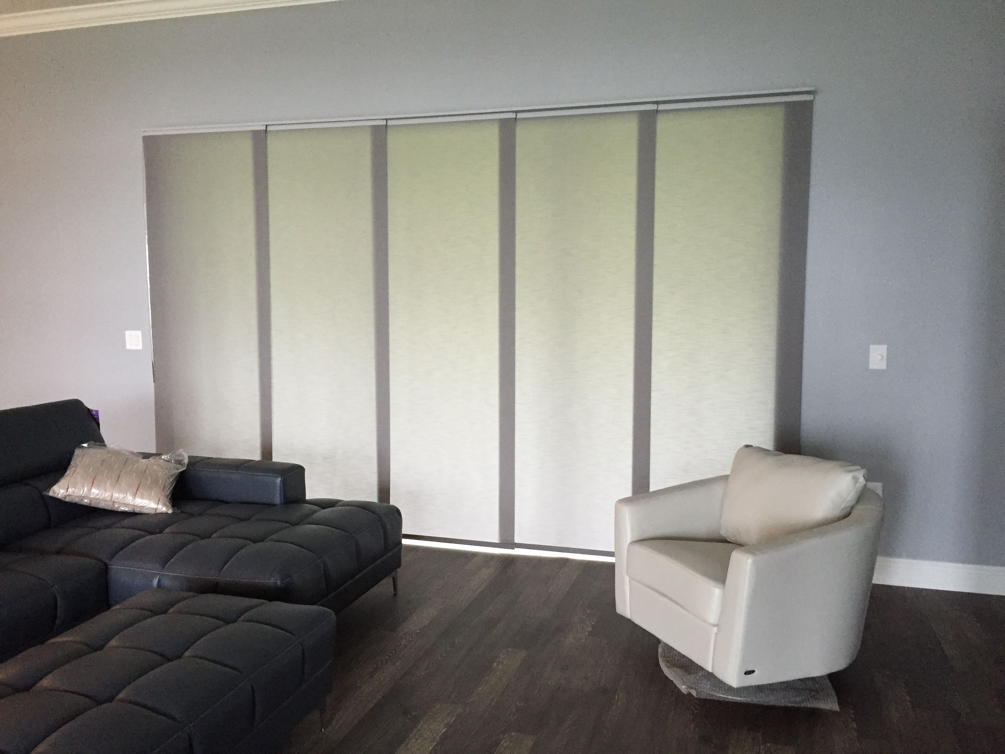 Sliding Panel Track Blinds are a great alternative to ...