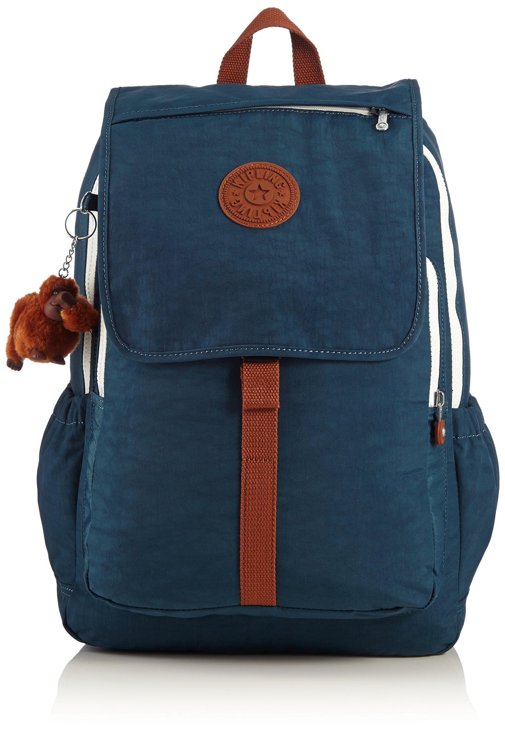 Kipling Casual Daypack Haruko 25 liters Multicolour (Drop Print) K15377B44: Amazon.co.uk: Luggage