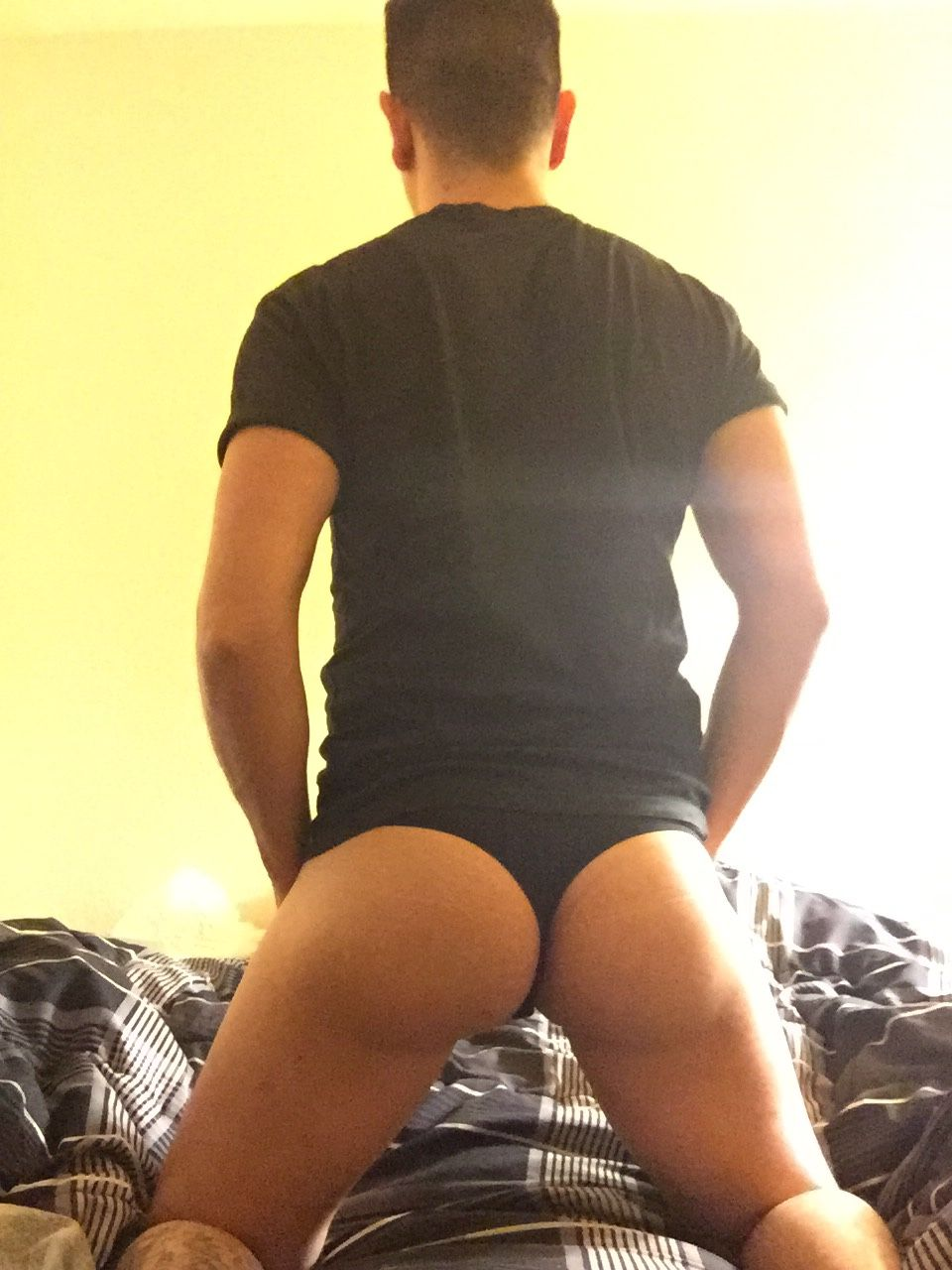 "rawsaysi: ""thescruffybear "" my favorite picture of a guy in a thong"