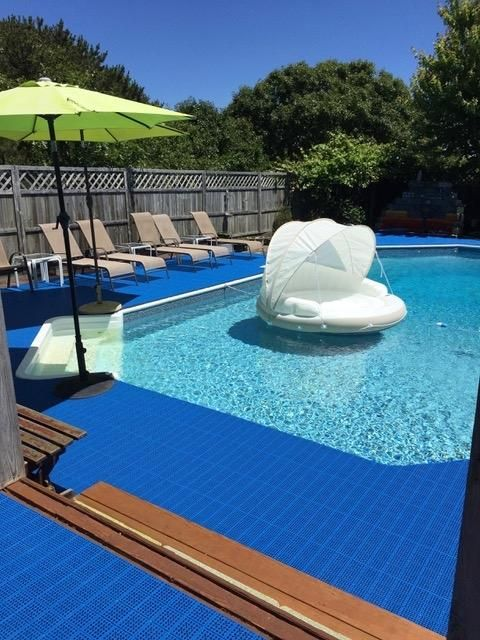 Non Slip Pvc Interlocking Outdoor Wet Area Pool Deck Patio Tiles Backyard Pool Landscaping Swimming Pools Backyard Backyard Pool
