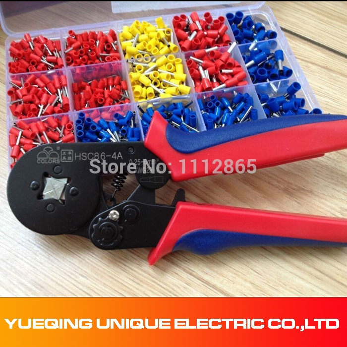 35.99$ Know more - Free Shipping 0.25-6mm2 Wire Ferrule Crimp tool + ...