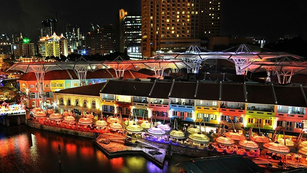 Clarke Quay Singapore Singapore Itinerary Singapore Travel Singapore Grand Prix