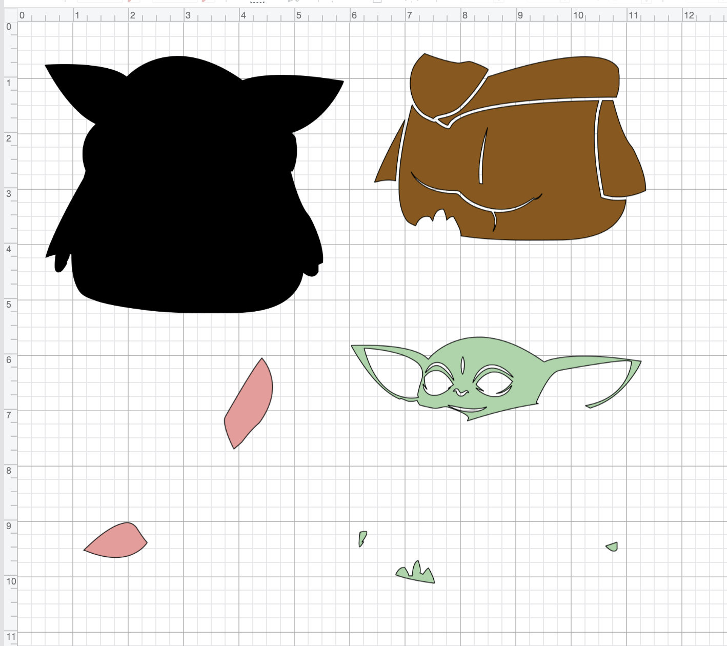 Baby Yoda SVG for Cricut Cricut, Crafts, Cricut creations