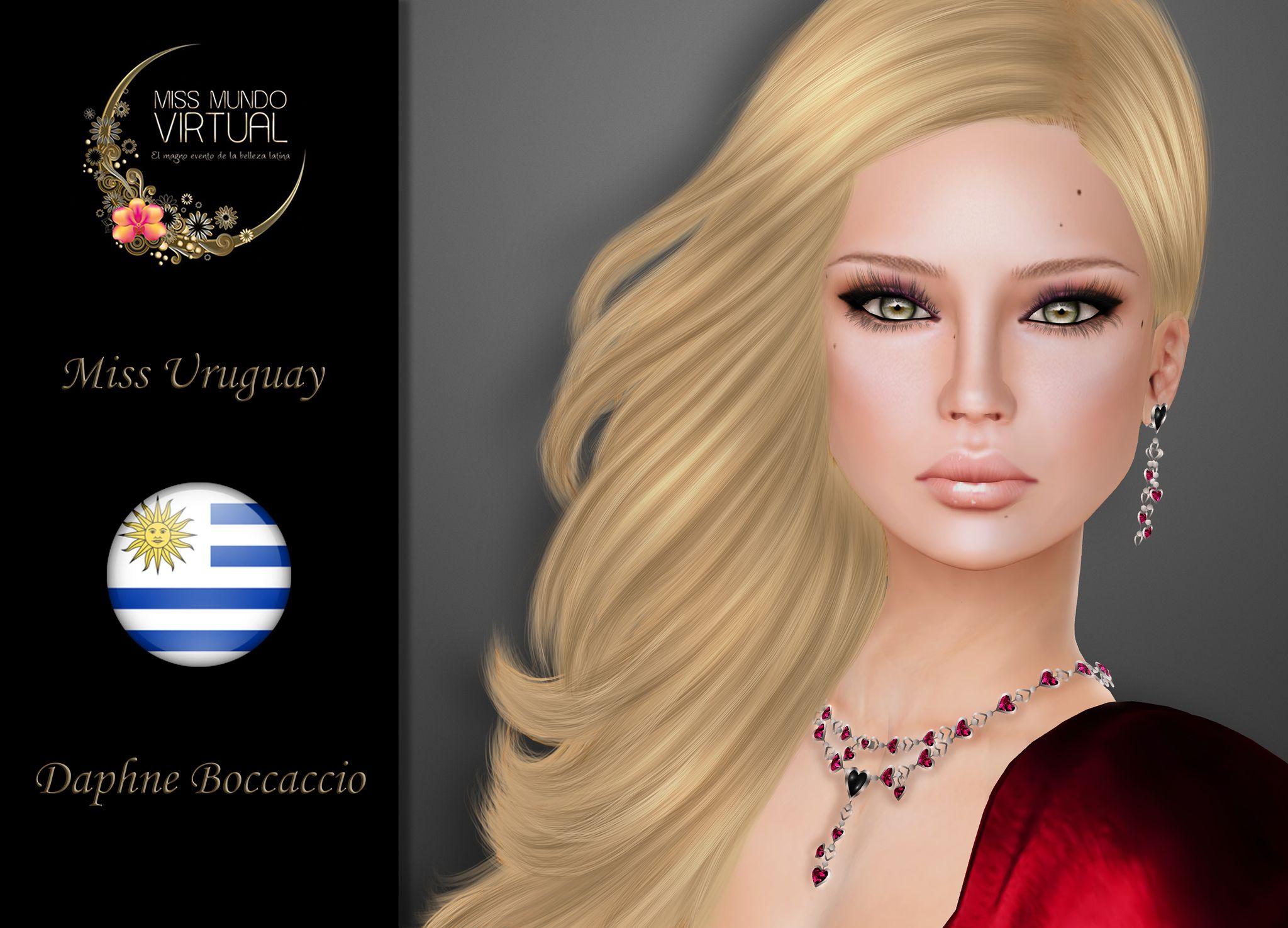 https://flic.kr/p/xiVTmK | Miss Uruguay - Daphne Boccaccio | Aquí están! Tenemos el inmenso honor de presentales a las Candidatas Oficiales a Miss Mundo Virtual 2016, una de ellas será la próxima representante de la Belleza Latina.