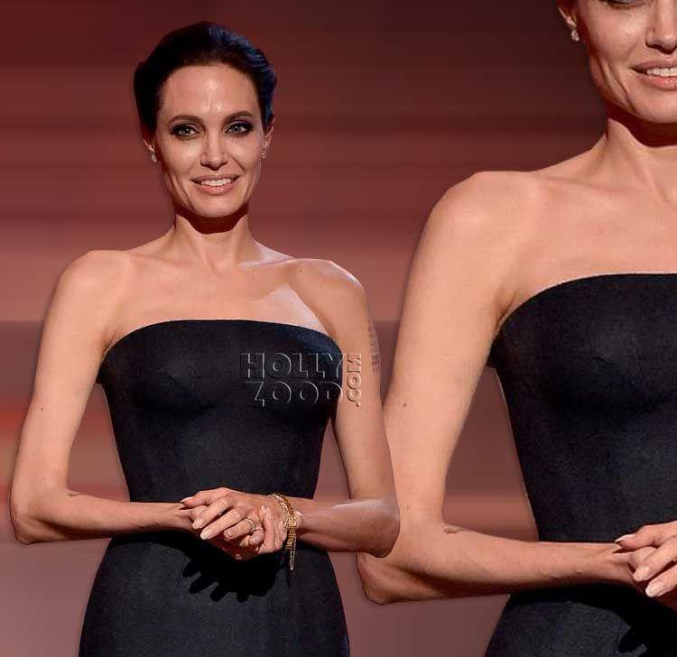 Angelina Jolie Skinny Arms Skinny Pinterest Angelina Jolie
