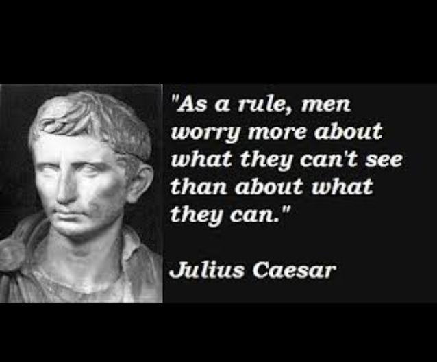 He said it, I didn't... Caesar quotes, Julius caesar