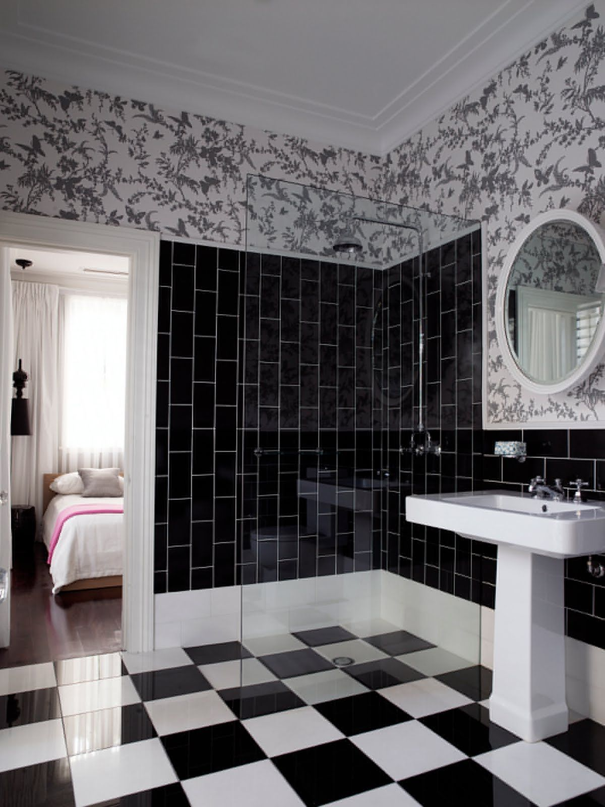 Black And White Bathroom Wall Tile Ideas Check This Useful Article By Going To The Link At The