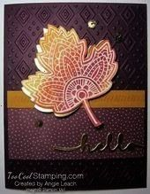 Lighthearted Leaves Hello Cards   - Cards/Stamping -Watercolor Resist Lighthearted Leaves Hello Cards   - Cards/Stamping -  Grateful theres you pop up 3  PaperArtsy: 2016 Paper Piecing {Challenge}  Stamp with Sandy: MOJO206, Faith in Nature and Paisley Petals  Strictly Sentiments 5  Embossing folder was inked with Soft Suede