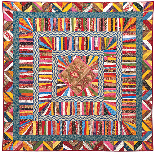 Liberated Medallion Quilt Class | String quilts | Pinterest ... : liberated string quilts - Adamdwight.com