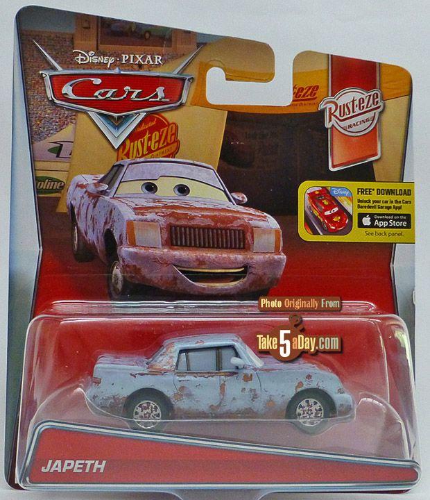 Blog Archive Mattel Disney Pixar Cars Japeth Haz Rusteth