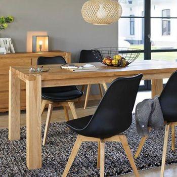 inspirant chaise pour table en bois | Décoration française ...