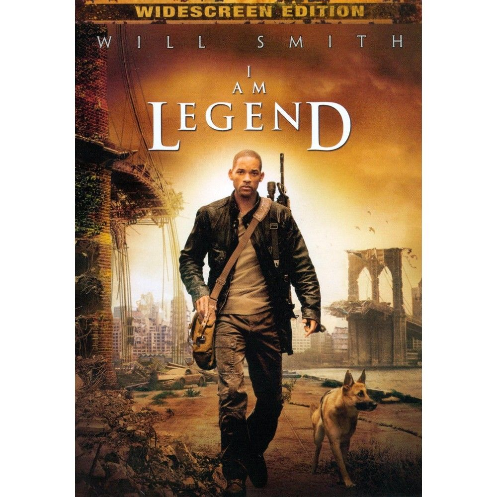 I Am Legend Ws Dvd In 2020 I Am Legend Full Movies Online Free Free Movies Online