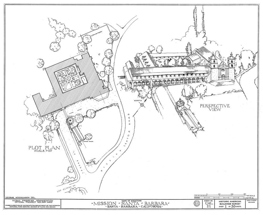 Architectural Drawings California Missions Architecture Drawing Spanish Missions In California