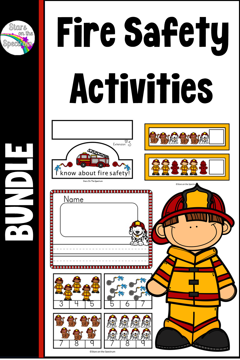 Fire Safety Activities Bundle Fire Safety Activities Fire Prevention Week Fire Safety Preschool [ 1440 x 960 Pixel ]