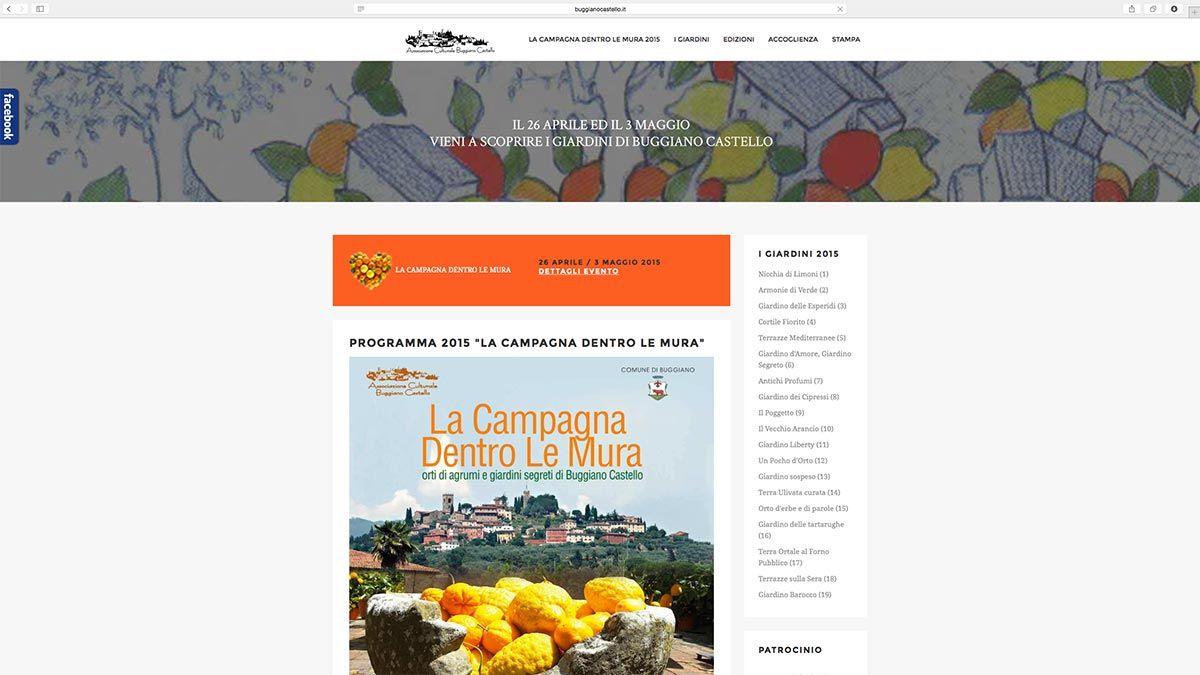Sito web La Campagna dentro le Mura