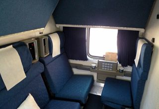 Amtrak Superliner family bedroom | Train Travel Amtrak | Pinterest ...