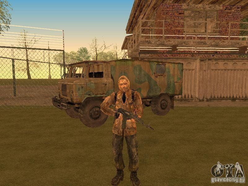 S. T. A. L. K. E. R. Pack by nik100203 для gta san andreas.