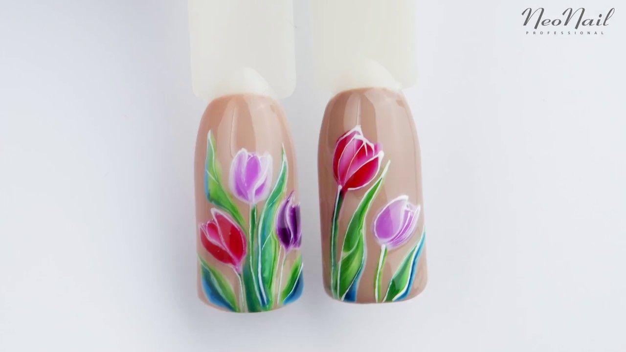 Neonail Nailart Paznokcie Hybrydowe Zdobienie Paznokci Manicure
