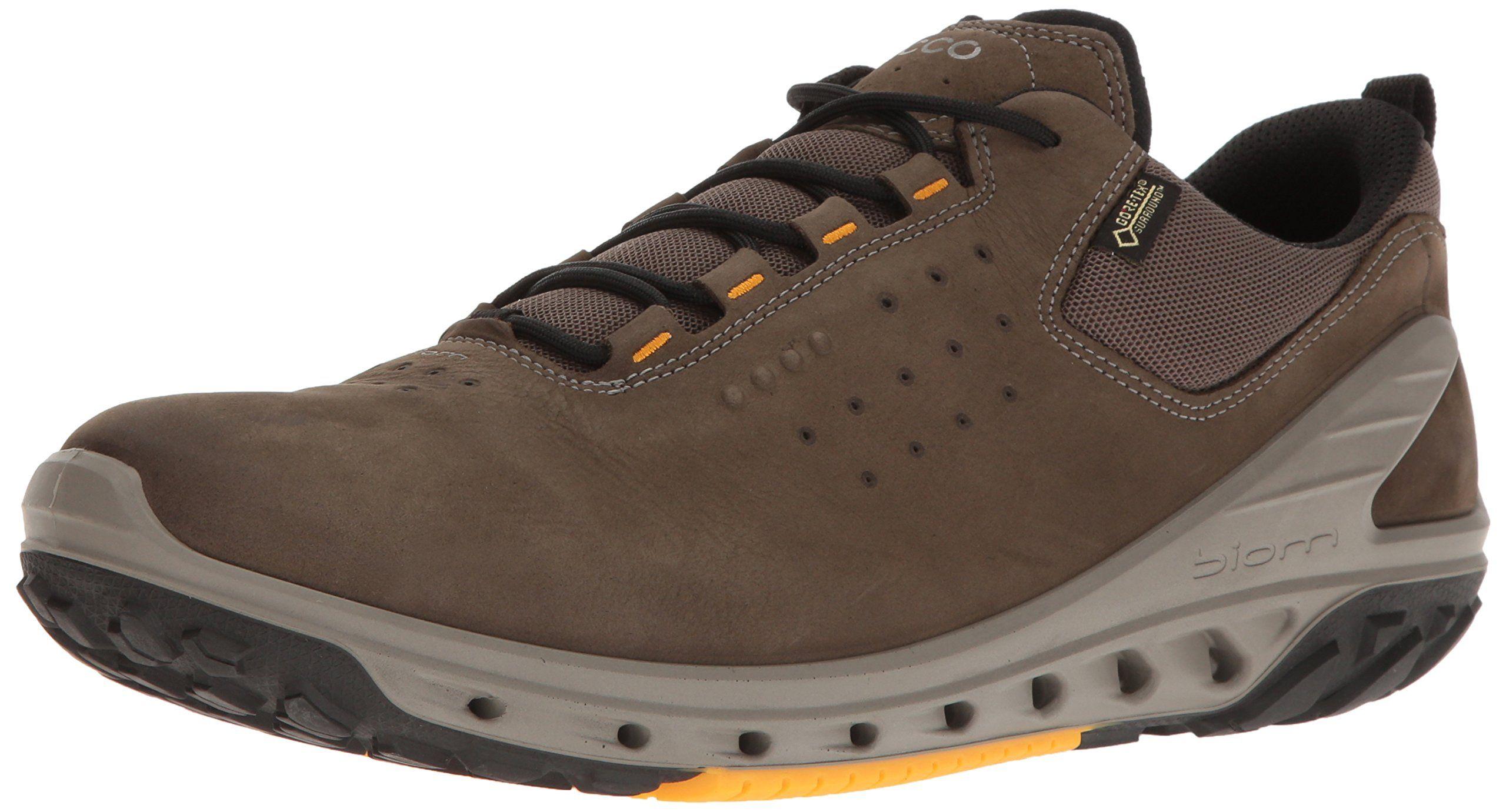 ECCO Men's Biom Venture Gore Tex Tie Hiking Shoe, Tarmac