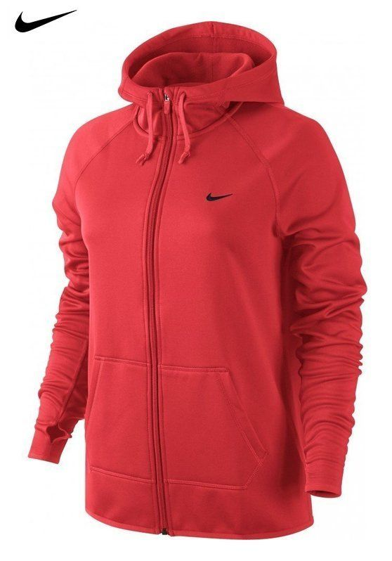 ec43453b281bc $27.99 - Nike Womens Therma All Time Full-Zip Hoodie small | ACTIVE ...