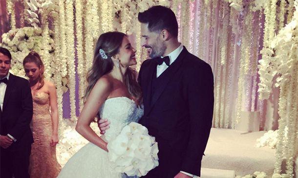 La romántica boda de Sofía Vergara y Joe Manganiello