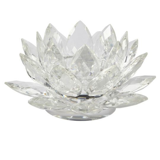 Own 1 ashland pillar lotus candle holder 3 tier large item create the perfect ambiance when you use a lotus blossom candle holder as the lotus flower itself slowly opens its pristine blossoms to the sun mightylinksfo