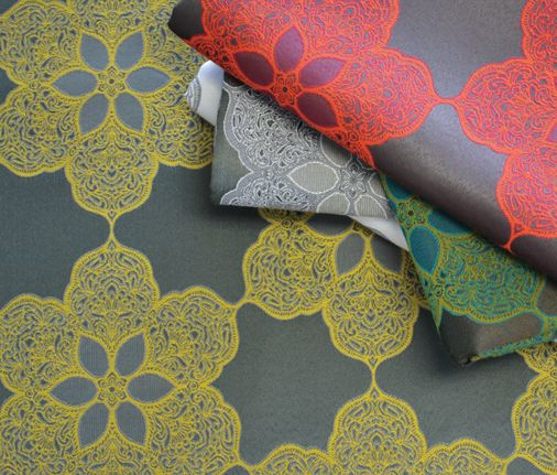 D L Couch Wallcovering And Fabrics Marrakesh Pattern