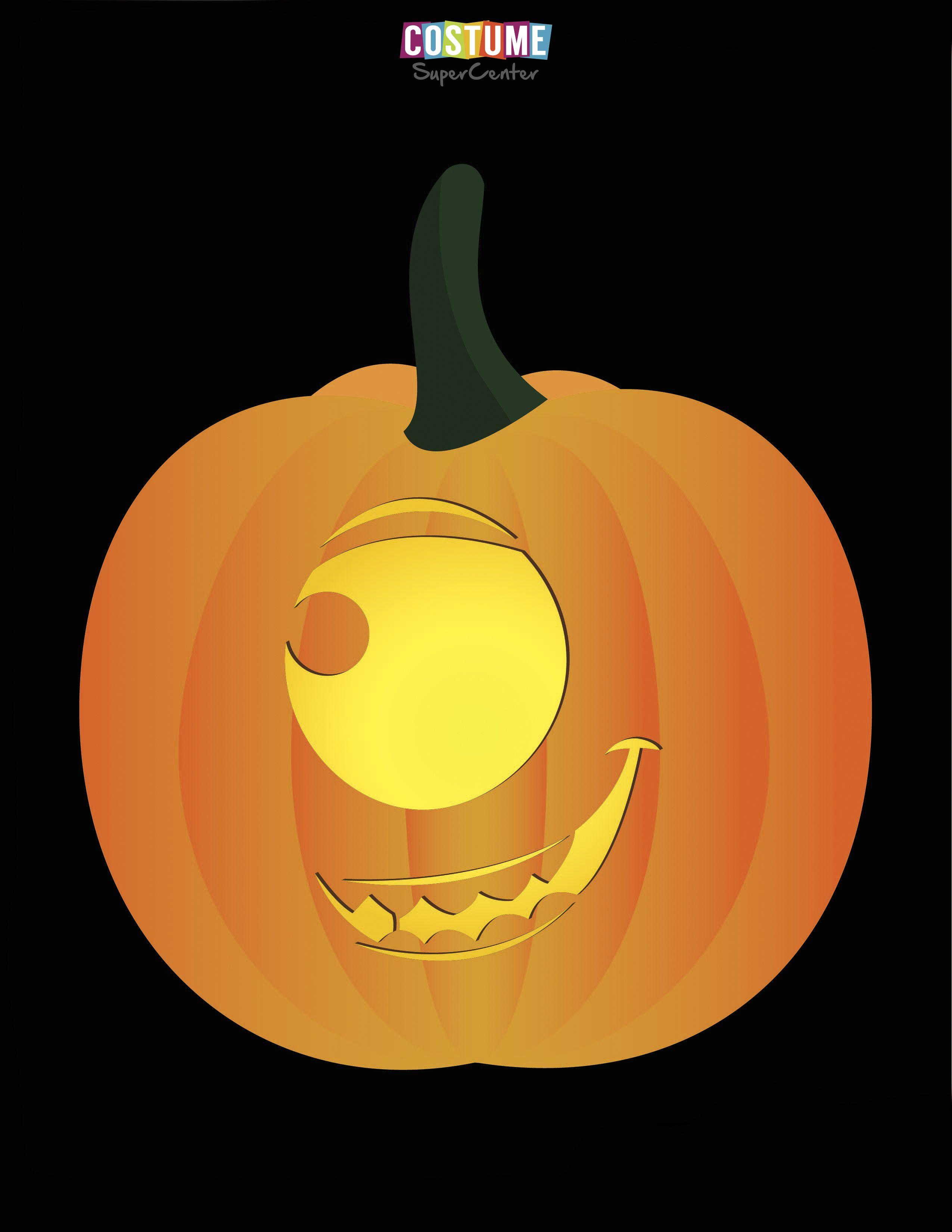 Printable Disney Pixar Pumpkin Stencils