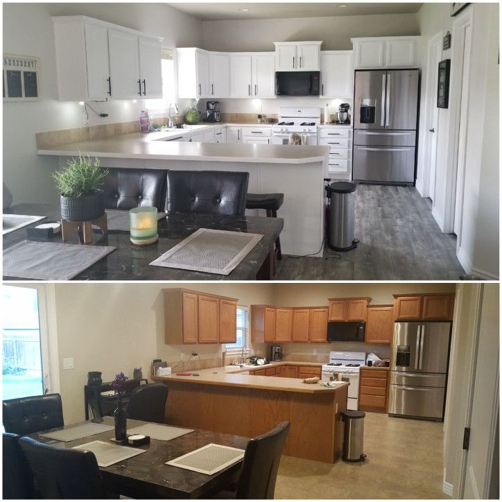almost finished with our kitchen remodel later on this
