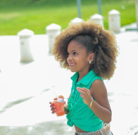 beautiful afro-puerto rican girl