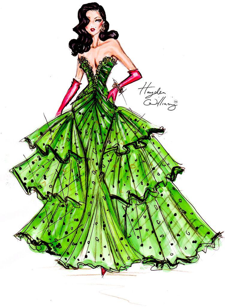 Art Lesson - Sketch - Festive Couture