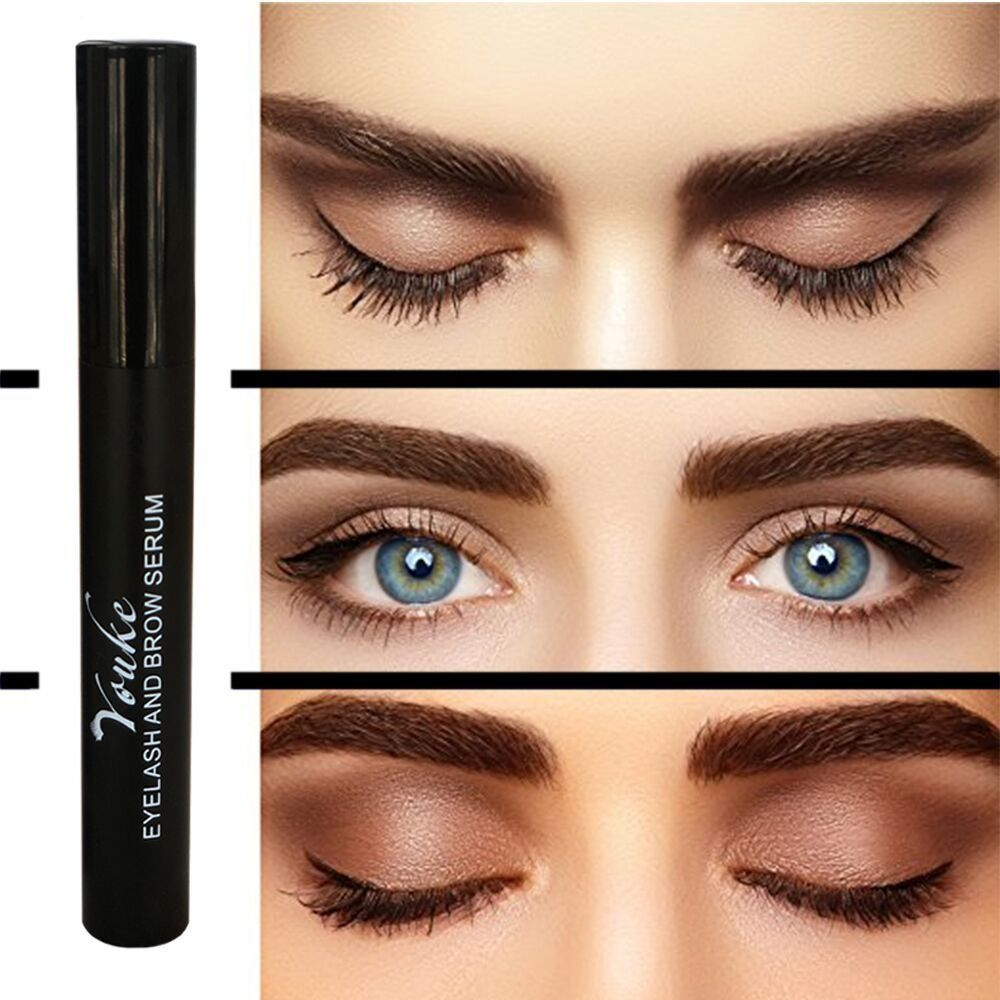 8dd43c32b7f Eyelash Growth Serum 6ml Advanced Enchancing Formula Eye brows Lash Booster  for Longer Thicker Natural Eyelashes and Fuller Eyebrows Beauty Treatment  for ...