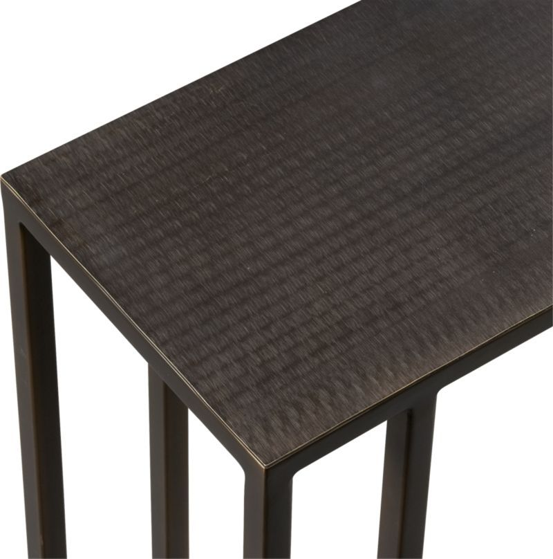 Echelon C Table Reviews Crate And Barrel C Table Crate And Barrel Crates
