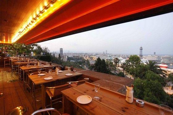 Terraza Martínez Restaurant Barcelona Outdoor Seating