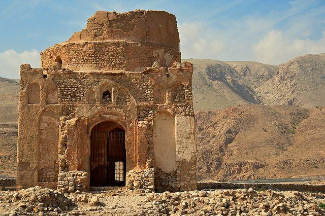 Oman | Bibi Miriam Tomb, Qalhat. 'Marco Polo stopped here...'