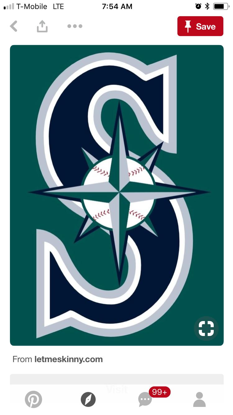 Pin By Random Ragland On Ami Seattle Mariners Seattle Mariners Logo Mariners Baseball
