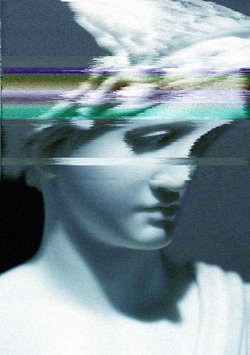 greekglitch © Dju79 † glitch art #corrupted imagery